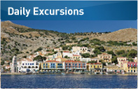 Daily excursions with Dodekanisos Seaways
