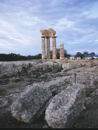 Rhodes - Temple of Apollo